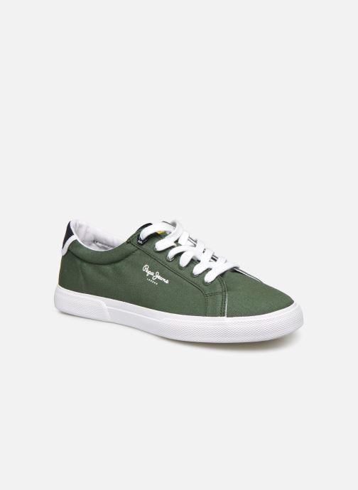 Deportivas Pepe jeans Kenton Basic Man Verde vista de detalle / par