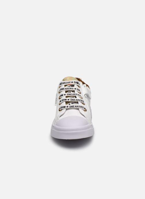 Baskets Shoesme Shoesme Blanc vue portées chaussures
