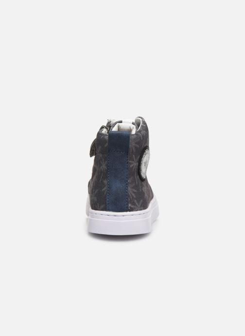 Sneaker Shoesme Shoesme blau ansicht von rechts