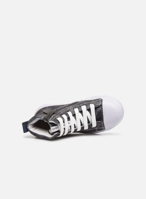 Sneaker Shoesme Shoesme blau ansicht von links