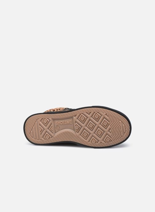 Baskets Shoesme Baby Moccasin Marron vue haut