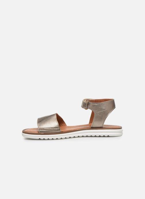 Sandales et nu-pieds Shoesme Ma Or et bronze vue face