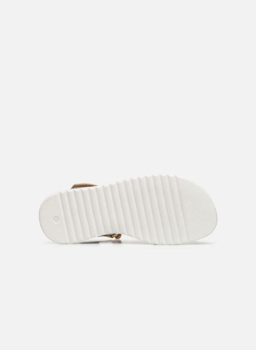 Sandales et nu-pieds Shoesme Ma Or et bronze vue haut
