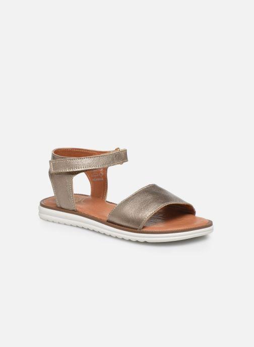 Sandales et nu-pieds Shoesme Ma Or et bronze vue détail/paire