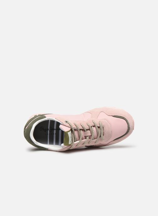 Sneakers Pepe jeans Verona W Logo Rosa immagine sinistra