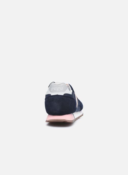 Baskets Pepe jeans Klein Archive Summer W Bleu vue droite