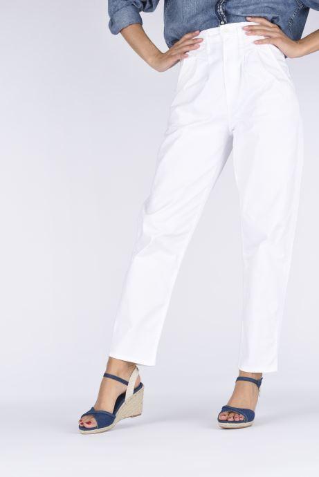Espadrilles Pepe jeans Shark Denim20 Bleu vue bas / vue portée sac
