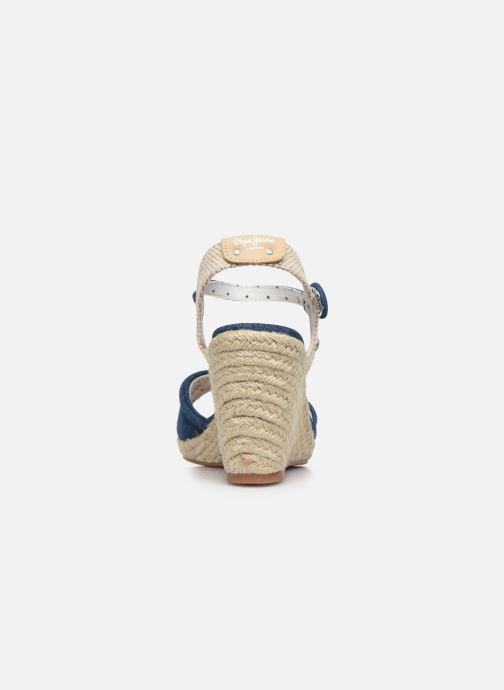 Espadrilles Pepe jeans Shark Denim20 Bleu vue droite