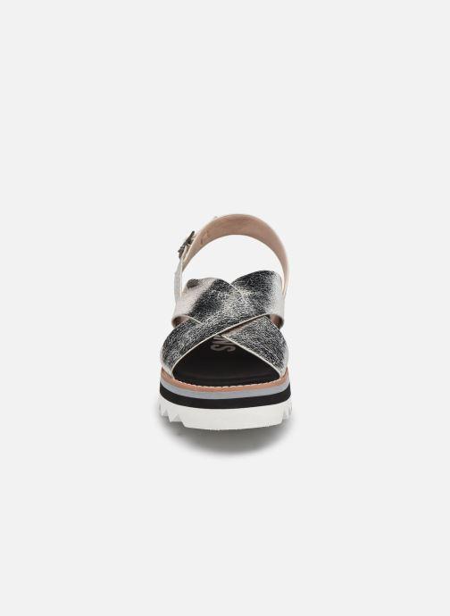 Sandales et nu-pieds Pepe jeans Ella Lily Argent vue portées chaussures