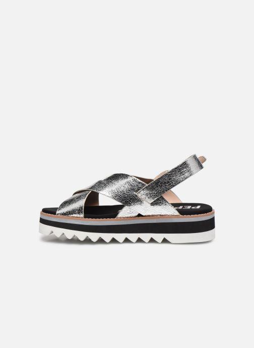 Sandales et nu-pieds Pepe jeans Ella Lily Argent vue face