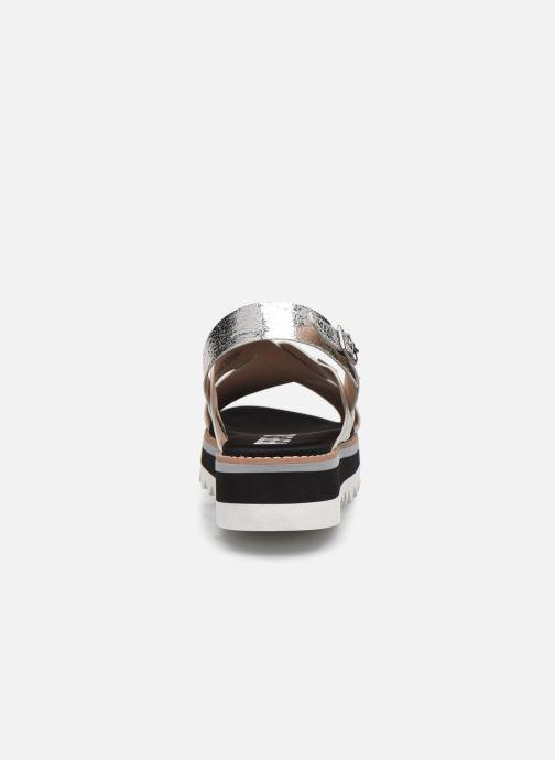 Sandales et nu-pieds Pepe jeans Ella Lily Argent vue droite