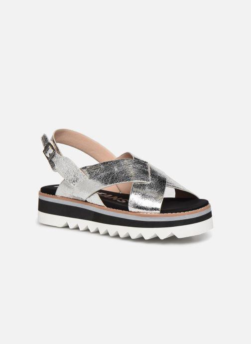 Sandales et nu-pieds Pepe jeans Ella Lily Argent vue détail/paire