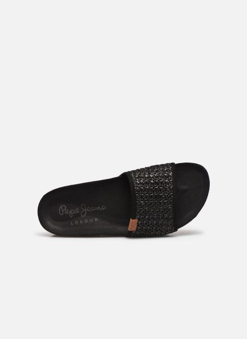 Chaussure Femme Grande Remise Pepe jeans Oban Ethnic Noir Mules et sabots 421532