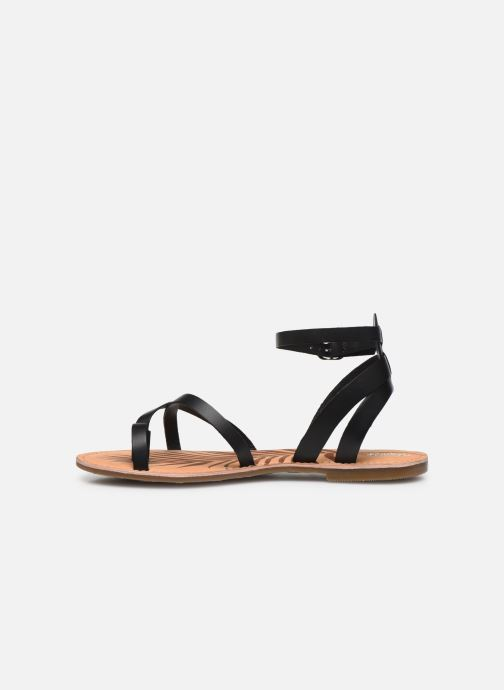 Sandales et nu-pieds Pepe jeans March Basic Noir vue face