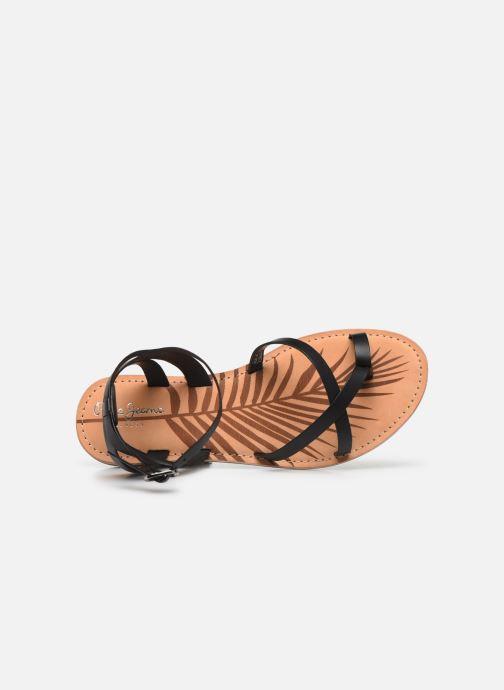 Sandales et nu-pieds Pepe jeans March Basic Noir vue gauche