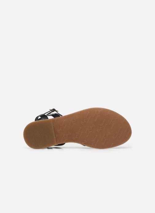 Sandales et nu-pieds Pepe jeans March Basic Noir vue haut
