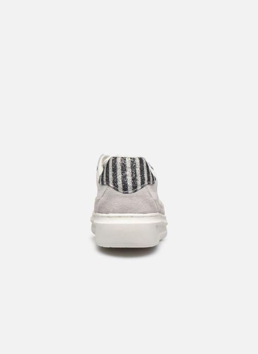 Baskets Pepe jeans Abbey Lines Blanc vue droite