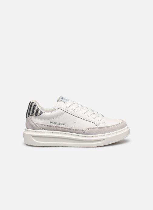 Baskets Pepe jeans Abbey Lines Blanc vue derrière