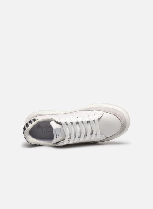 Baskets Pepe jeans Abbey Lines Blanc vue gauche