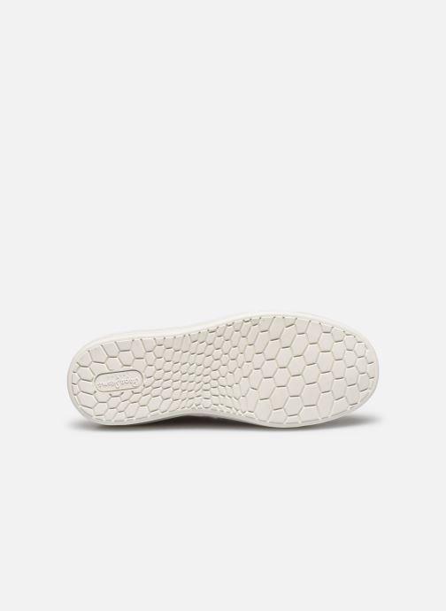 Baskets Pepe jeans Abbey Lines Blanc vue haut