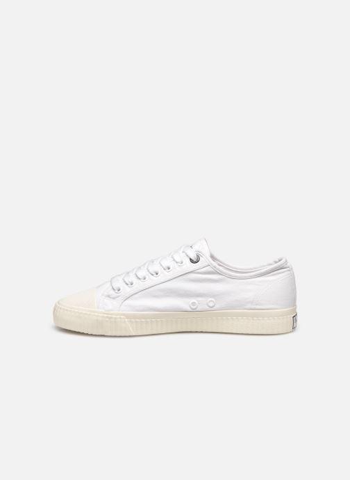 Sneaker Pepe jeans Malibu Summer weiß ansicht von vorne
