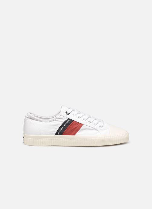 Sneaker Pepe jeans Malibu Summer weiß ansicht von hinten