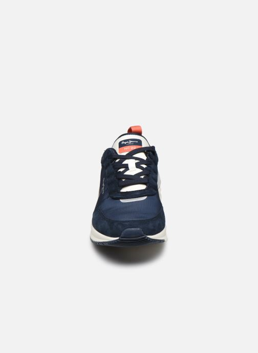 Sneakers Pepe jeans N22 Summer Azzurro modello indossato