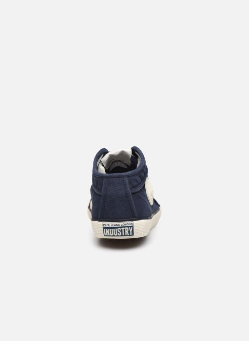 Sneakers Pepe jeans Industry Classic Azzurro immagine destra