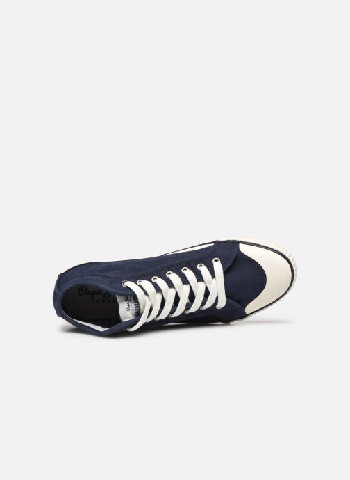Sneakers Pepe jeans Industry Classic Azzurro immagine sinistra