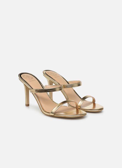 Sandales et nu-pieds Guess ADAN1 Or et bronze vue 3/4