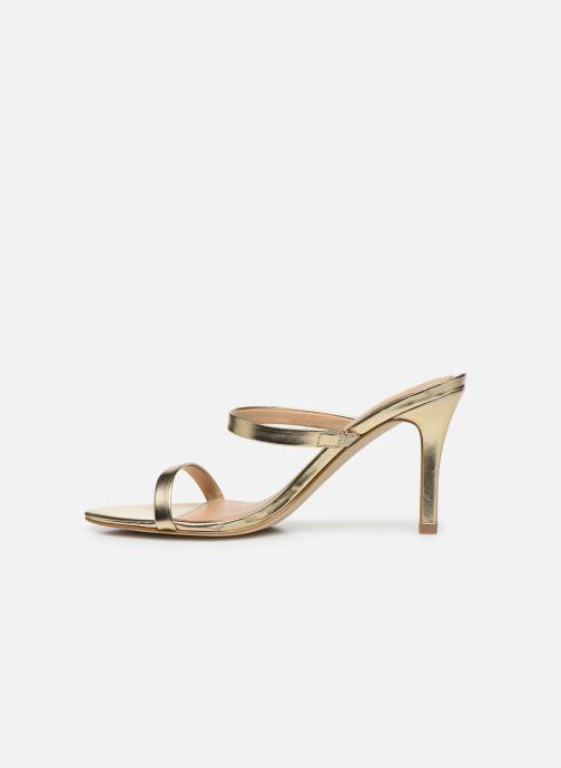 Sandales et nu-pieds Guess ADAN1 Or et bronze vue face