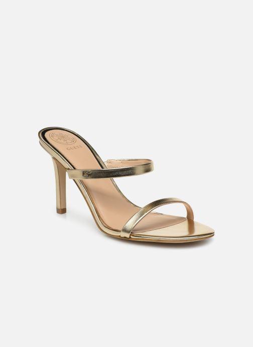 Sandales et nu-pieds Guess ADAN1 Or et bronze vue détail/paire