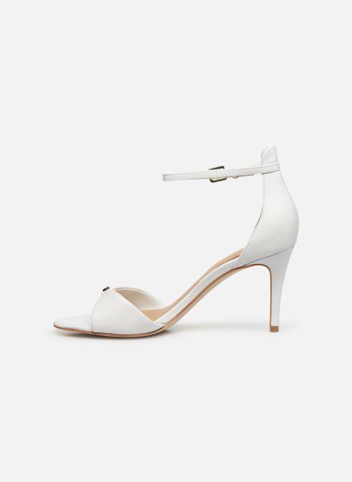 Sandali e scarpe aperte Guess ABIRI Bianco immagine frontale