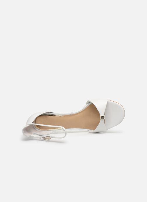 Sandali e scarpe aperte Guess ABIRI Bianco immagine sinistra