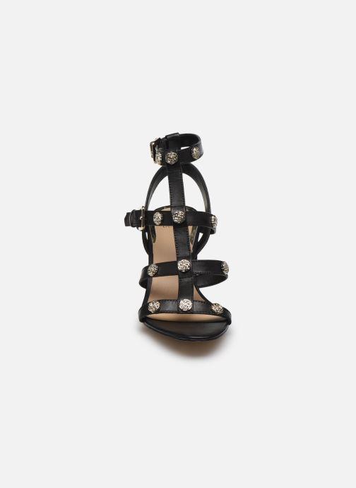 Sandales et nu-pieds Guess MAGALE Noir vue portées chaussures