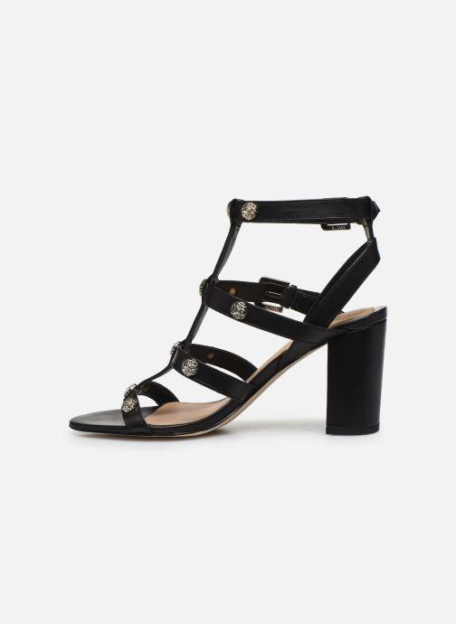 Sandales et nu-pieds Guess MAGALE Noir vue face