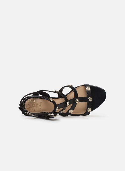 Sandales et nu-pieds Guess MAGALE Noir vue gauche