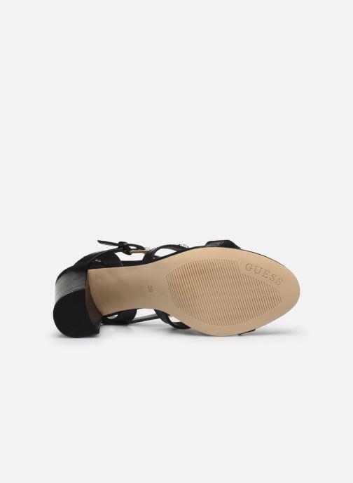 Sandales et nu-pieds Guess MAGALE Noir vue haut
