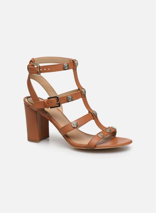 Sandales et nu-pieds Guess MAGALE Marron vue détail/paire