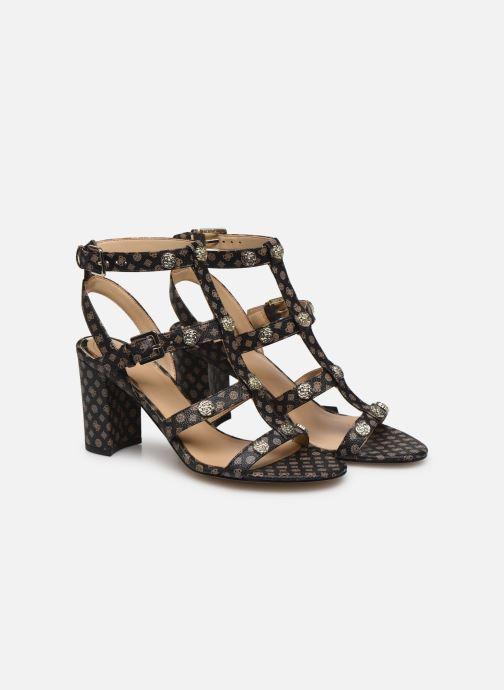Sandales et nu-pieds Guess MAGALE2 Marron vue 3/4