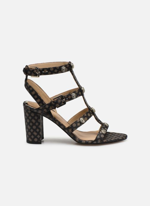 Sandales et nu-pieds Guess MAGALE2 Marron vue derrière