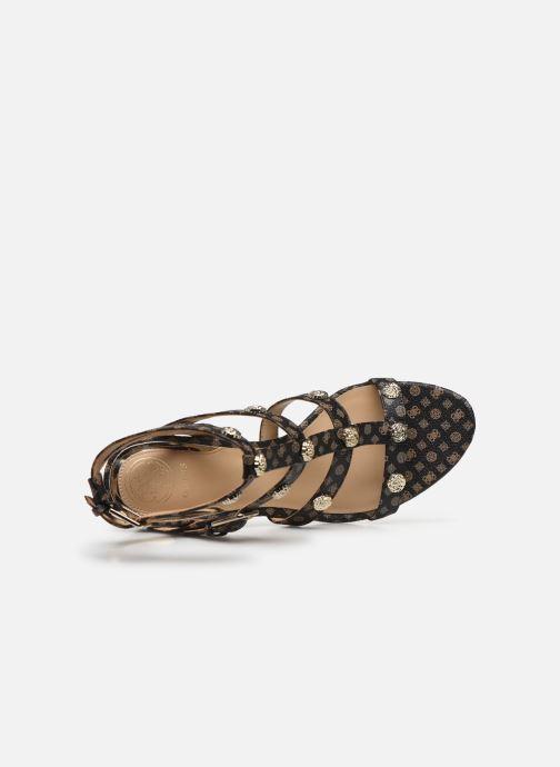 Sandales et nu-pieds Guess MAGALE2 Marron vue gauche