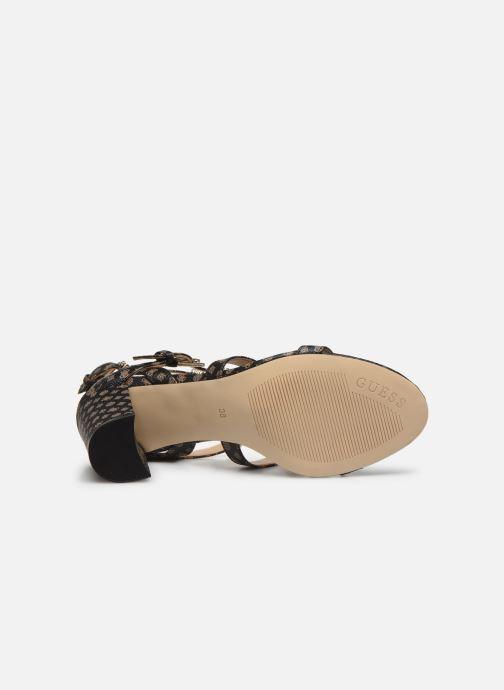 Sandales et nu-pieds Guess MAGALE2 Marron vue haut
