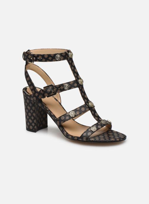 Sandales et nu-pieds Guess MAGALE2 Marron vue détail/paire
