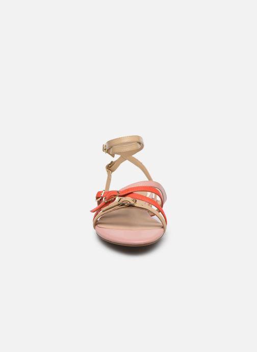 Sandales et nu-pieds Guess REGALO Beige vue portées chaussures
