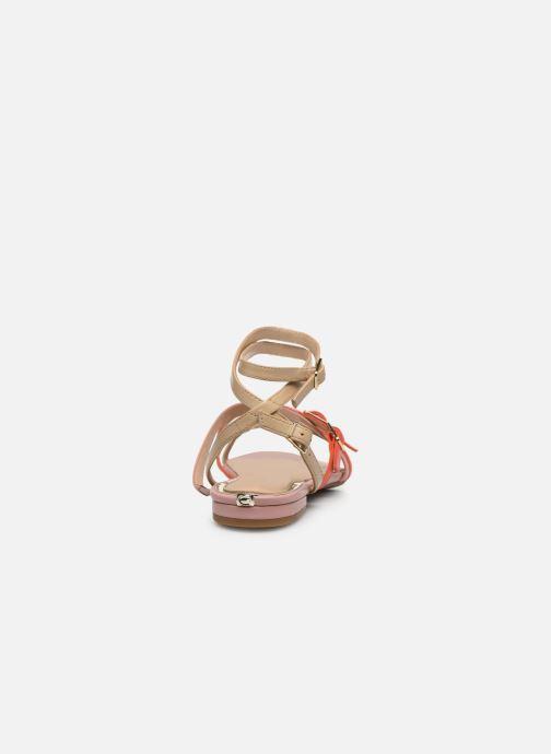 Sandales et nu-pieds Guess REGALO Beige vue droite