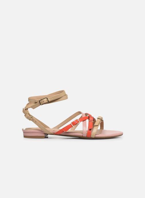 Sandales et nu-pieds Guess REGALO Beige vue derrière