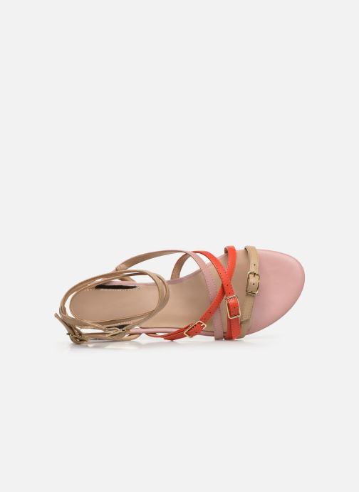 Sandales et nu-pieds Guess REGALO Beige vue gauche