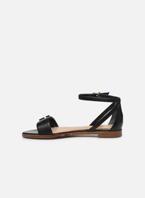 Sandales et nu-pieds Guess RASHIDA Noir vue face