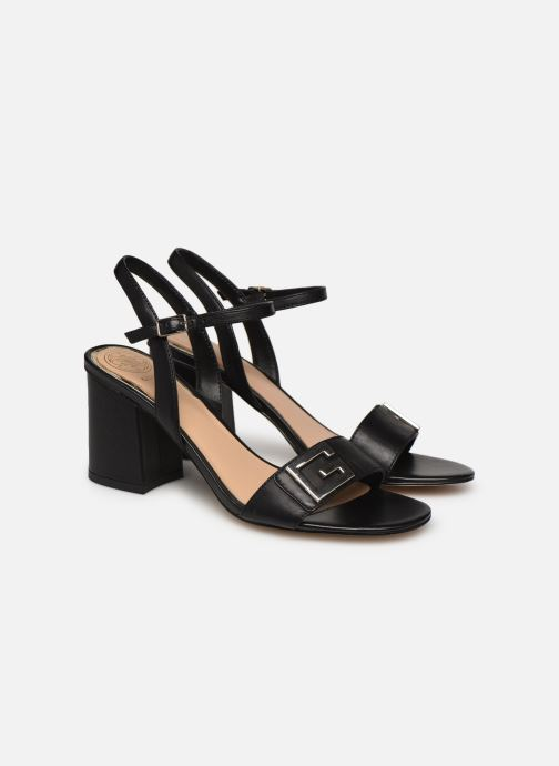 Sandales et nu-pieds Guess MACK Noir vue 3/4
